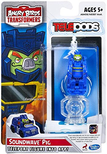 Amazon Com Angry Birds Transformers Telepods Figure Pack Soundwave