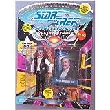 Captain Montgomery Scott Action Figure As Seen in the Star Trek: Next Gext Generation Episode