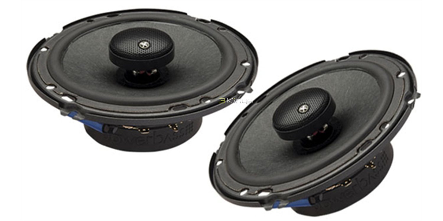 PowerBass 2XL-653T 6.5'' 240W Thin Full Range Car Audio Speakers