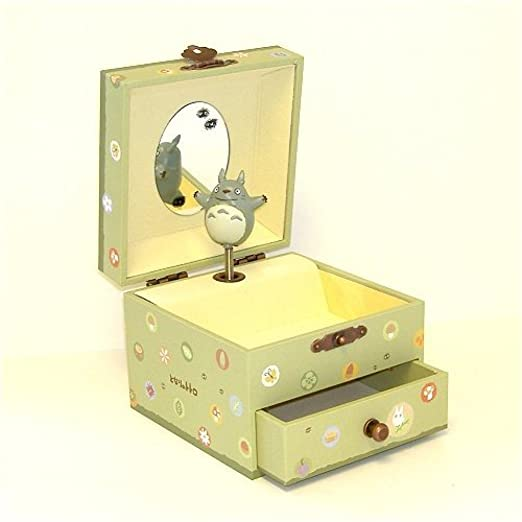 Totoro Studio Ghibli My Neighbor Music Box with a Drawer Baby Music Boxes at amazon