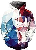 Pandolah Men's Patterns Print 3D Sweaters Fashion