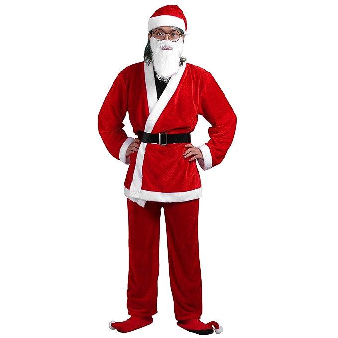 iiniim Disfraces Adulto de Navidad Christmas Disfraz de ...
