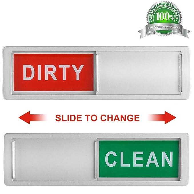 Cimkiz - Imán para lavavajillas, limpio y sucio, solo cambia ...