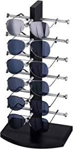 APL Display Sunglass Holder - Sunglasses Rack Eyeglass Holder Stand/Eyewear Holder/Sunglasses Organizer Stand for Home or Glasses Shop Display