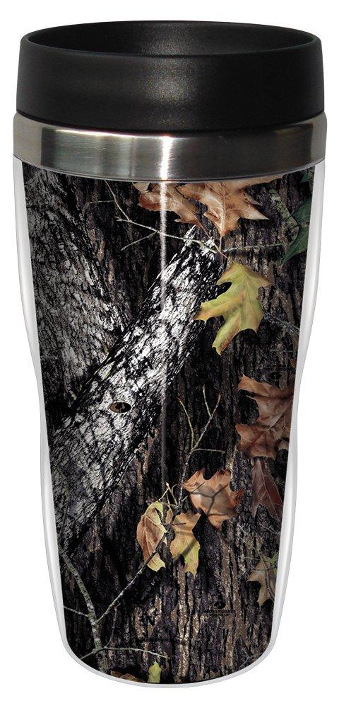 Tree-Free Greetings 77615 Break up by Mossy Oak Camo Vintage Art Sip 'N Go Travel Tumbler, 16-Ounce, Stainless Steel, Multicolored Tree Free SG77615