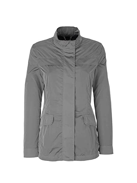 Geox W8220D T2453 Chaqueta Mujeres Gris 50: Amazon.es: Ropa ...