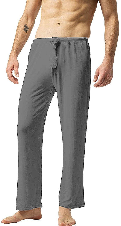 ZSHOW Pantaloni Lunghi Cotone Yoga Pigiama Uomo