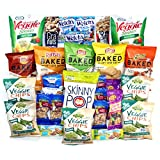 Cookies, Baked Chips, Nut and Health Bars – Snacks Variety Pack (Care Package 30 Count)