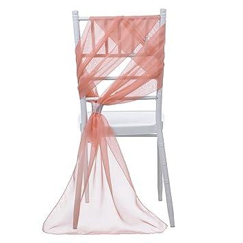 Stuhl Deko Hochzeit remedios chiffon stuhl schleife stuhl schärpe stuhlhussen hochzeit