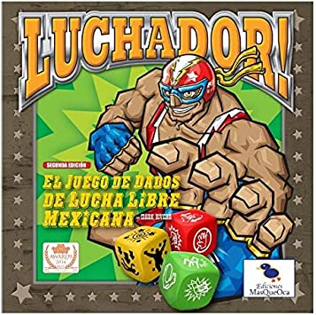 Luchador! Segunda edición (Juego de mesa en Español): Amazon.es ...