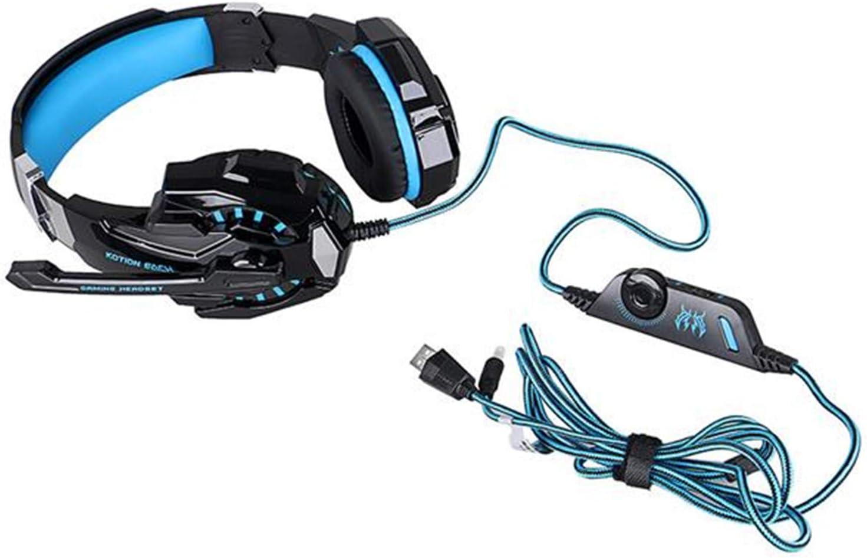 G9000 3.5mm Stereo Gaming Headphones Black /& Blue