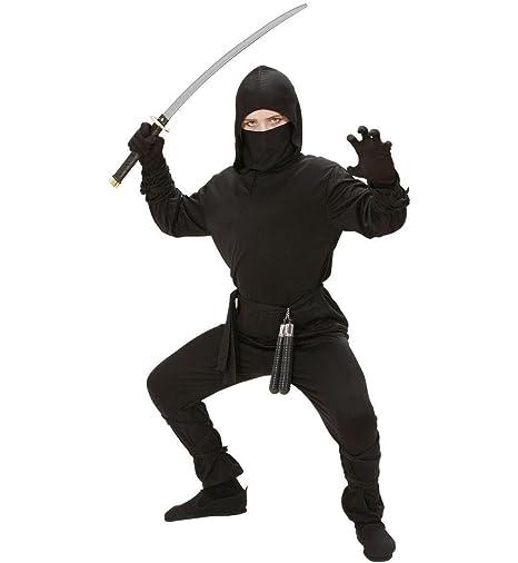 Amazon.com: Ninja (140cm) (hooded Coat Pants Belt Mask Arm ...