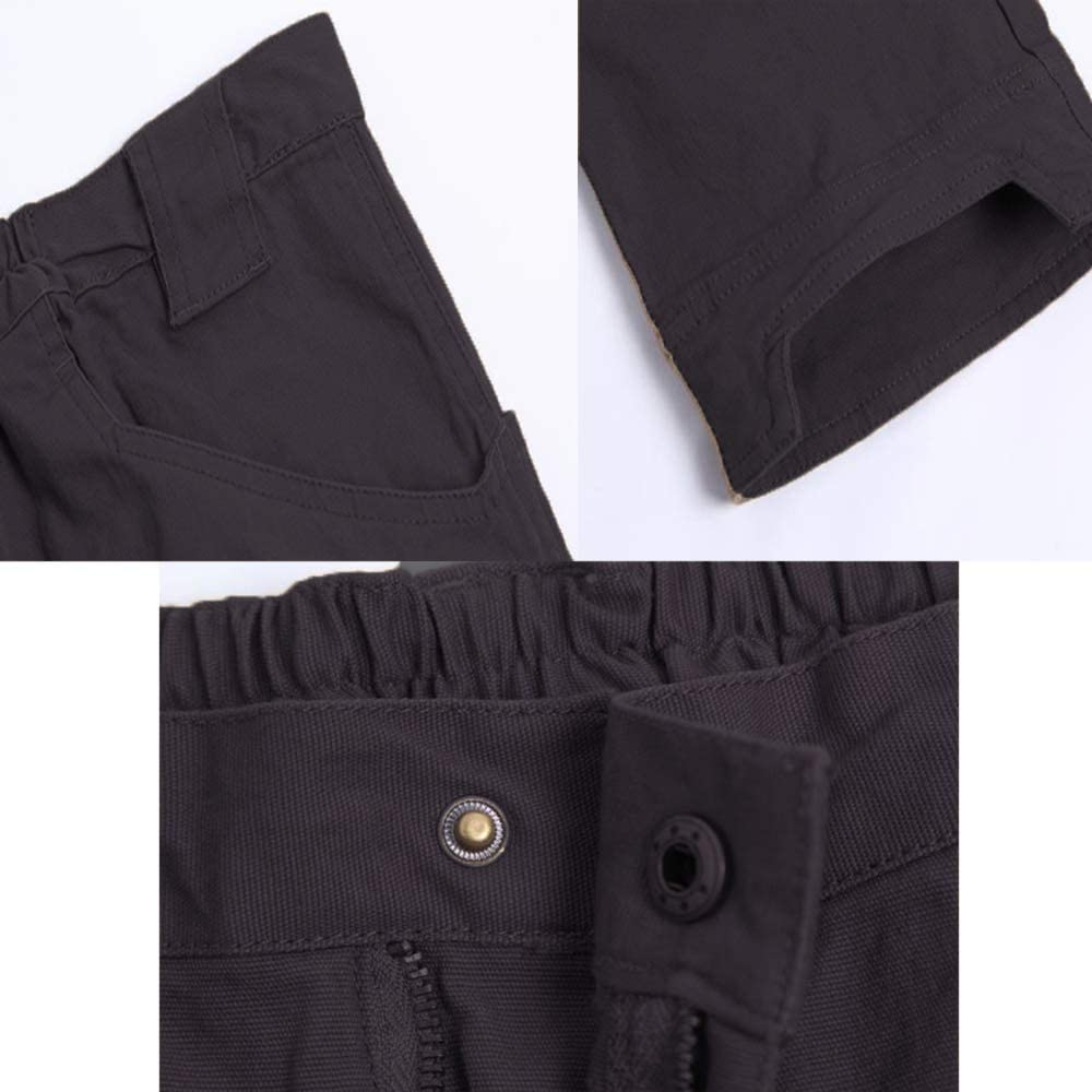 Mens Cargo Trousers Work Trousers for Man Mens Combat Trousers Military Outdoor Mens Cotton Trousers Pants for Camping Hiking Walking
