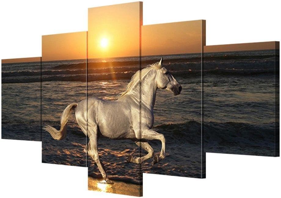 Cuadros de lienzo Arte de pared moderno Caballo de mar Cuadros Lienzos sin marco Pinturas decorativas Salas de estar Pinturas de pared , With Borders , SizeA