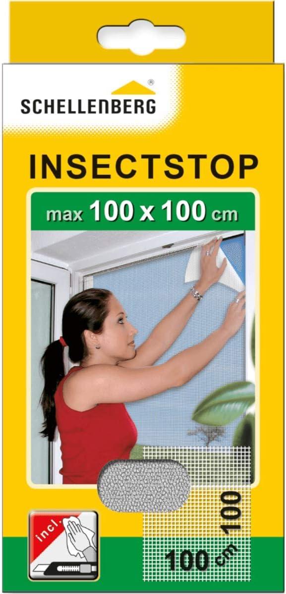 Schellenberg 50710 - Mosquitera, protección anti insectos y moscas para ventanas