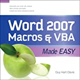 Word 2007 Macros & VBA Made Easy (Made Easy Series)