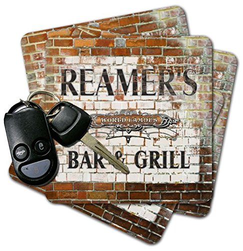 Used, REAMER'S Bar & Grill Brick Wall Coasters - Set of 4 for sale  Delivered anywhere in USA