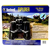 Bushnell Explorer 12 x 50 mm Binocular Pack (incld. lens covers, carrying/storage pouch w/ strap)