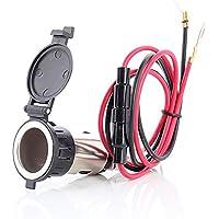 MMOBIEL Conector Impermeable para Encendedor eléctrico para Motocicleta