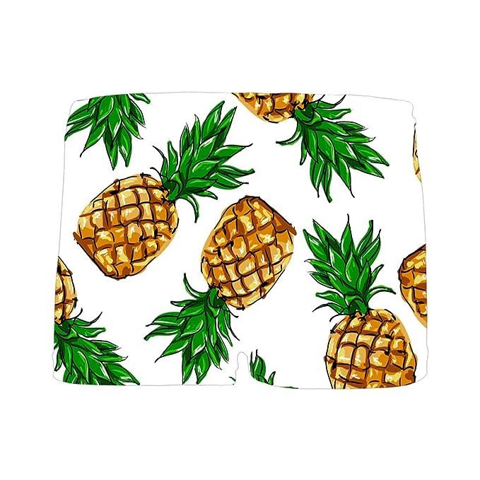 INTERESTPRINT Boys Pineapple Fruit Green Boxer Brief Underwear 5T-2XL