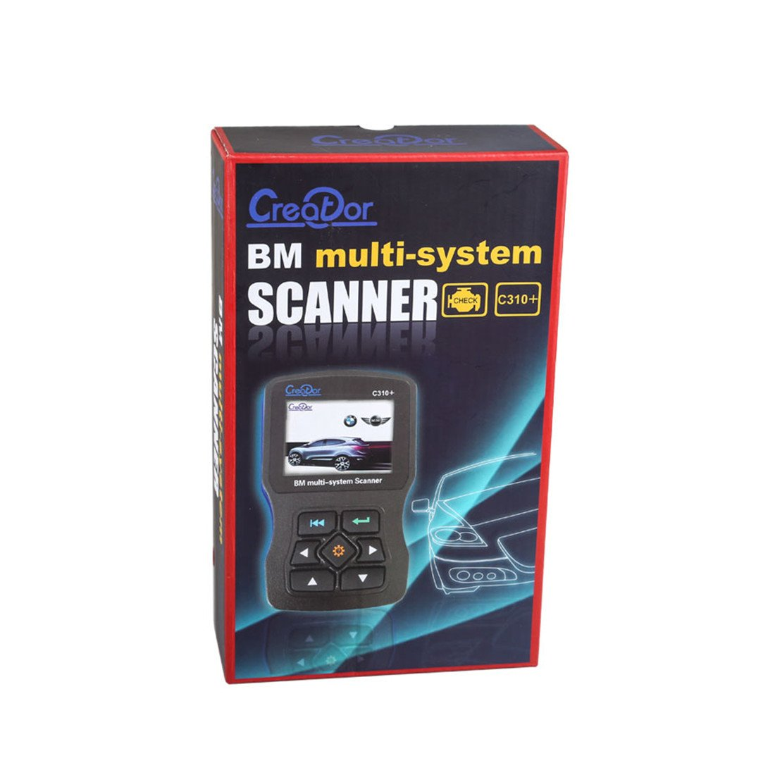 Creator V8.0 C310 Plus C310+ Code Scanner for BMW Mini Multi System Scan Tool by CREATOR (Image #4)