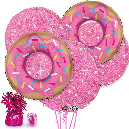 Costume SuperCenter Donut Balloon Bouquet Kit]()