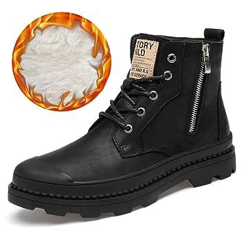 Amazon.com: Hilotu Mens Fashion Lace Up Ankle Boots Casual ...