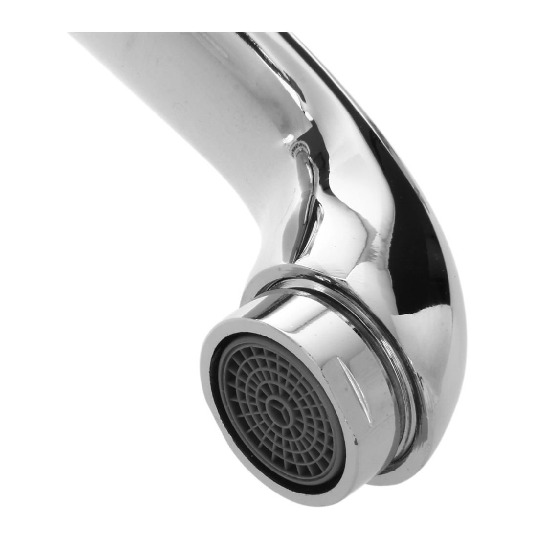 Retro Robinet de Lavabo TOOGOO Argent chrome Retro Mitigeur Robinet de Lavabo en Laiton /& Ceramique avec lentree deau pour Baignoire Salle de bain R