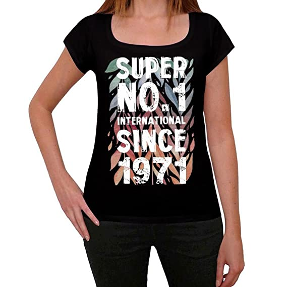 One in the City 1971, Super No.1 Since 1971 Mujer Camiseta ...