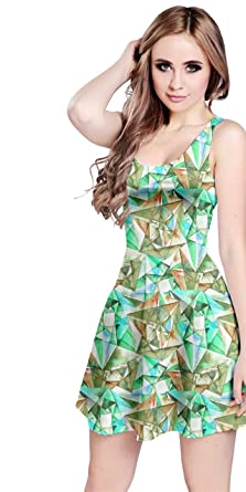 98dcc8896742 CowCow Womens Colorful Vector Abstract Geometrical Polygonal ...