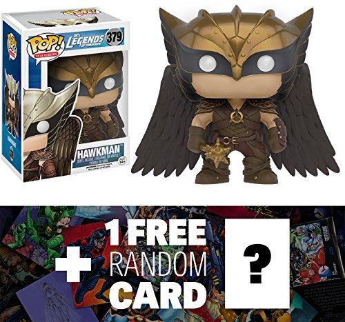 Hawkman: Funko POP! x Legends of Tomorrow Vinyl Figure + 1 FREE Official DC Trading Card Bundle (096847)