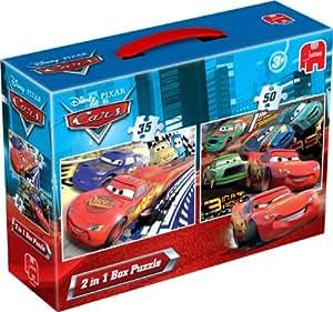 Jumbo 17144 Disney Cars - Puzzles (2 unidades, 35 y 50 piezas)