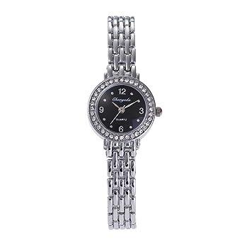 Amazon.com: HWCOO Chaoyada - Reloj de pulsera para mujer ...