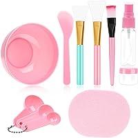 11 Pcs Face Mask Mixing Bowl Set, Premium DIY Facemask Mixing Tool Kit with Facial Mask Bowl Stick Spatula Silicone…