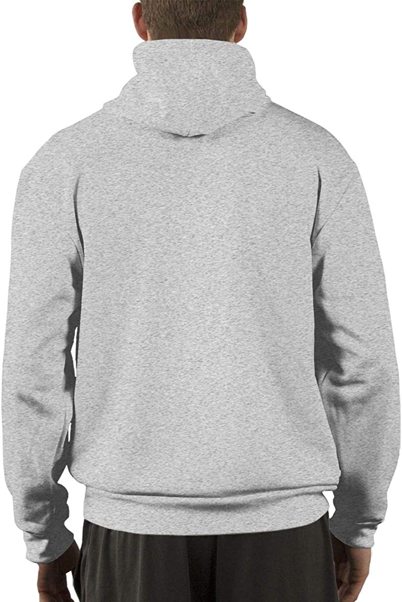 TIU LinXeep Welyn Fashion Mens Hoodie Gray L