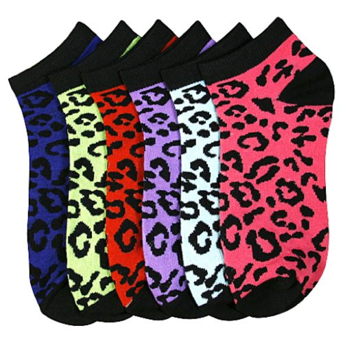 Womens Fashion Cheetah Animal Colors