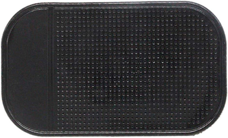 Schwarz XINFULUK Silikon Anti-Rutsch-Anti-Rutsch-Matte Auto Armaturenbrett Sticky Pad Halterung f/ür Handy Fahrzeug GPS-Halter Innenzubeh/ör