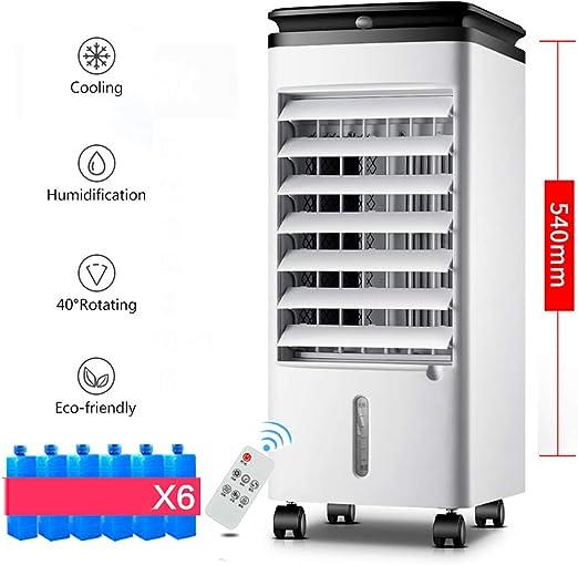 4 L Portátil Evaporativo Enfriador De Aire Ventilador,humidificador ...