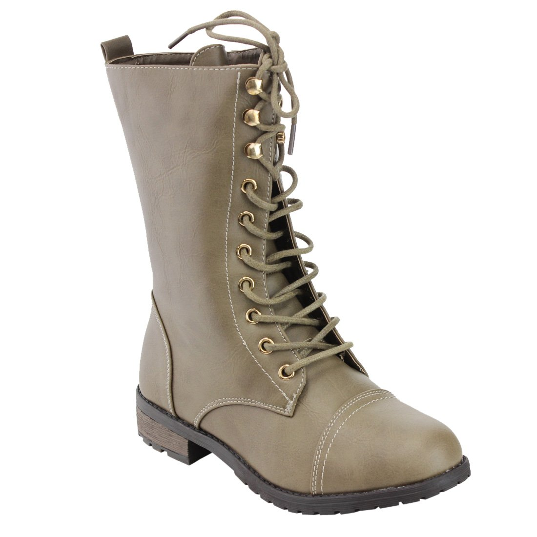 Taupe 34 Top Moda Women Pack-72 Boots