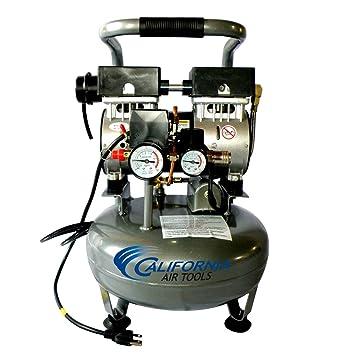 California Air Tools cat-3010 Ultra silencioso y sin Aceite 1.0 HP 3.0-gallon Depósito de acero Compresor De Aire: Amazon.es: Bricolaje y herramientas