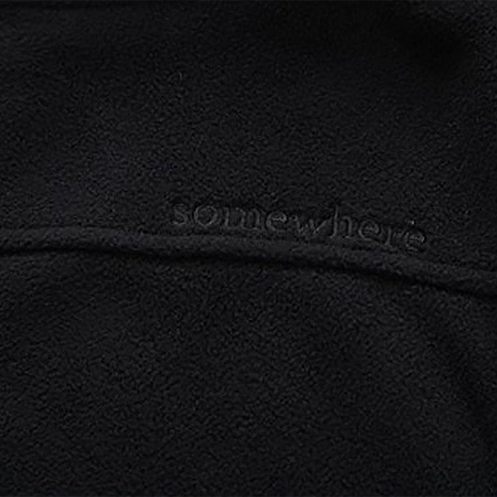 Somewhere Mountain Full Zip Fleece Jacket, Men's Full Front Zip Fleece Casual Lightweight Jacket, Best Birthday Gifts-Black,Small by Somewhere (Image #6)