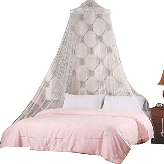 4 Corner Post Bed Single Canopy Mosquito Net Full Queen King Netting Mosquito N7