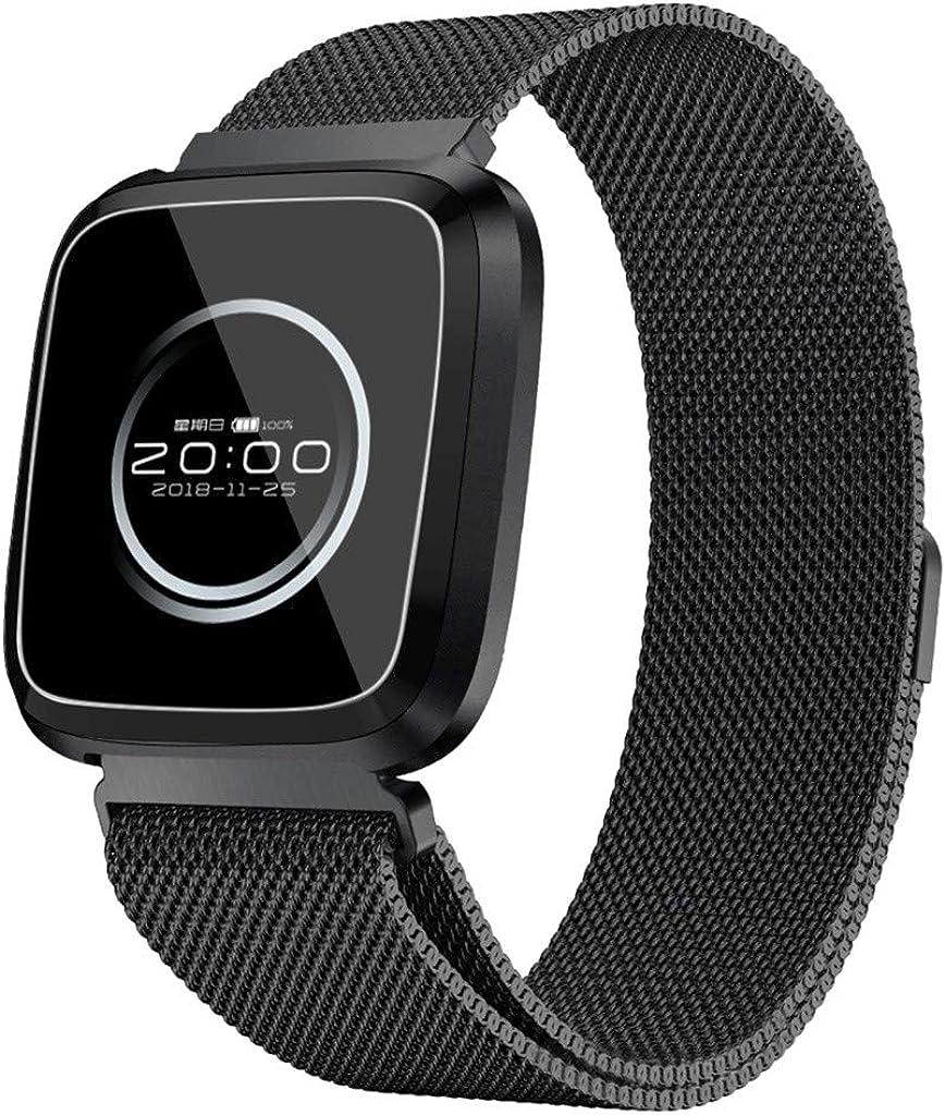 DAYLIN Pulsera Actividad Inteligente Presion Arterial GPS Hombre Mujer Reloj Deportivo Smartwatch Fitness Tracker IP68 Impermeable Monitor de Ritmo Cardíaco Sueño Podómetro Bluetooth 4.0 Android iOS