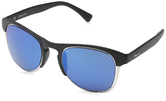 Police - Gafas de sol Redondas S1954 Offside 1, SEMI-MATT ...