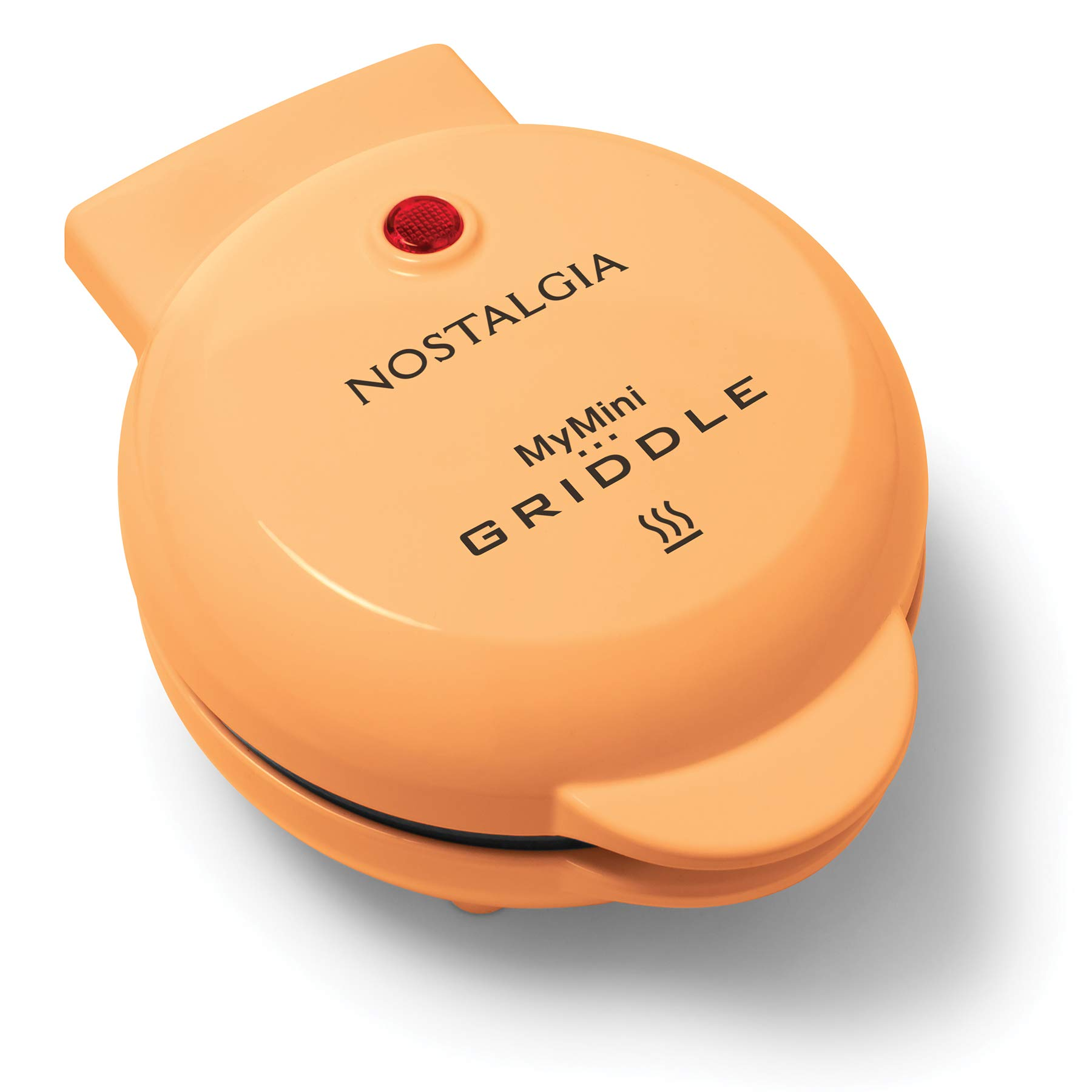 Nostalgia MGD5OR MyMini Personal Electric Griddle, Eggs, Omelets, Pancakes Breakfast Sandwiches, Quesadillas, Cookies, Orange by Nostalgia