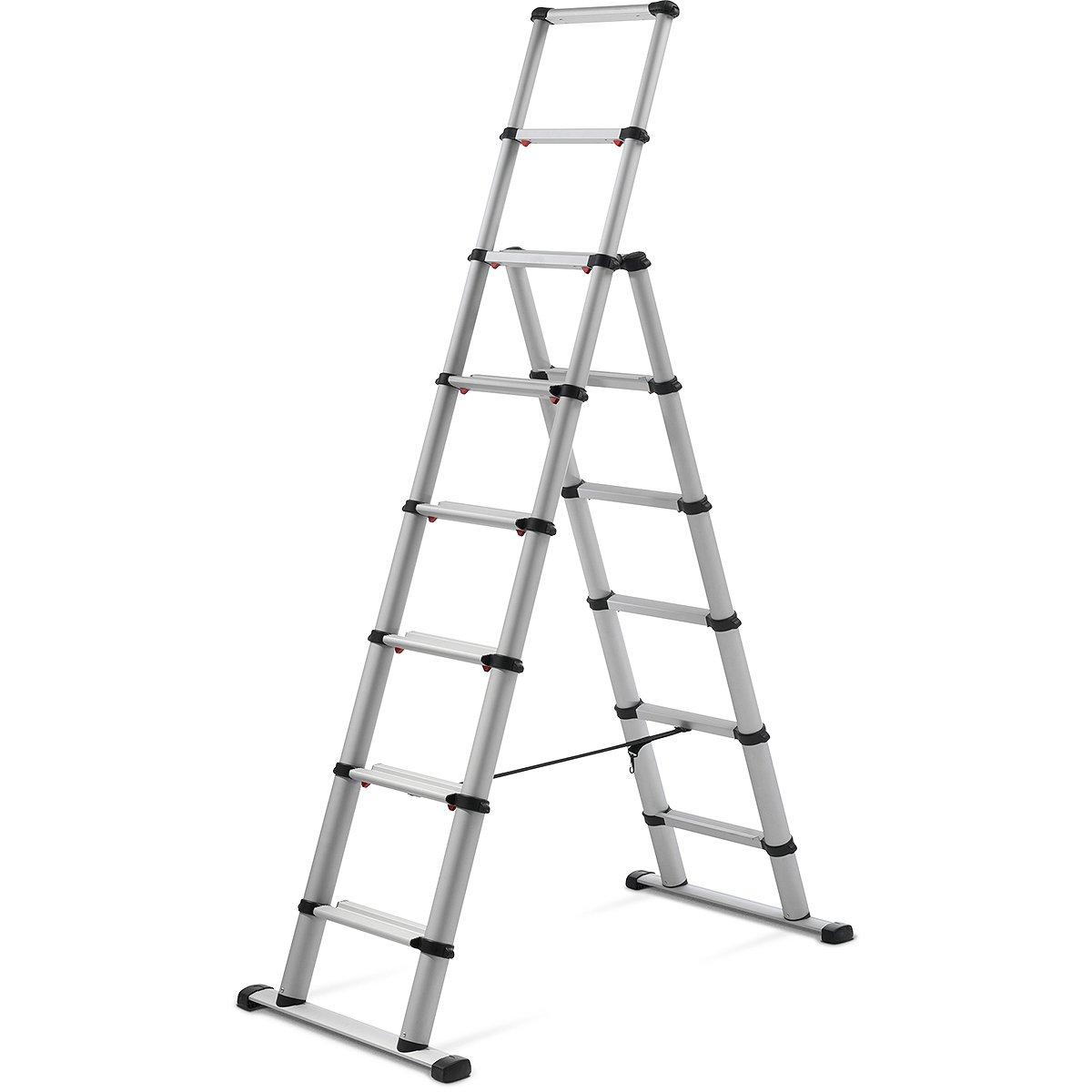 60623-501 Combi Ladder Telesteps TEL60623101 Silver