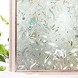 Window Film Privacy No-Glue 3D Static Decoration Heat - Best Reviews Guide