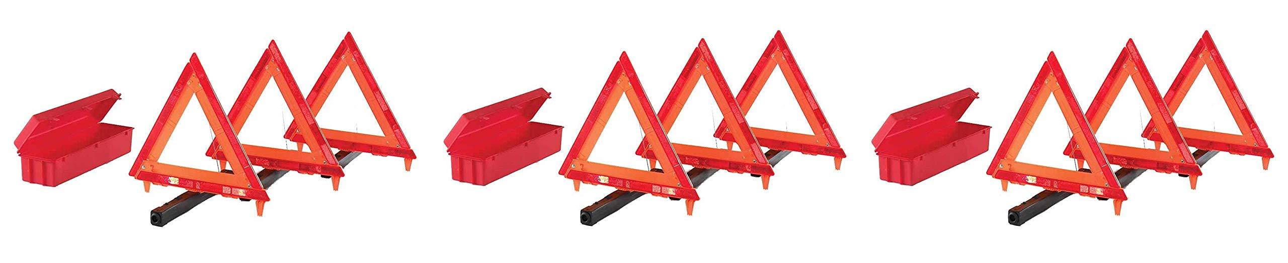 Cortina 95-03-009 3 Piece Triangle Warning Kit (3 Kits)