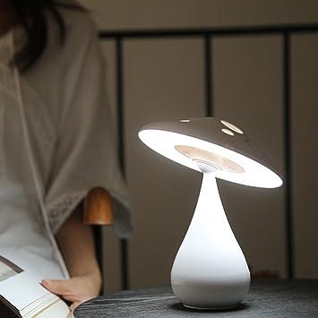 SX-CEHNG Luz de la Noche Dormitorio Lámpara de cabecera Enfermera de Carga LED Ojo Lámpara ...