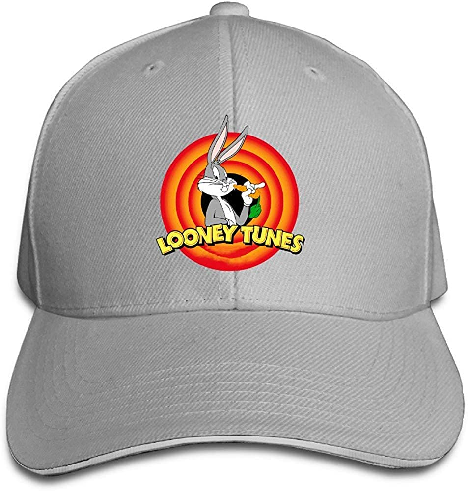 Unisex Looney Tunes Bugs Bunny Adjustable Snapback Baseball Cap ...